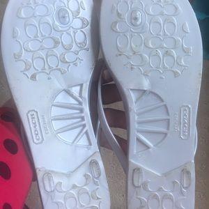 Coach Shoes - Coach Sandals Size 8